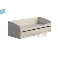 Детская кровать 0.8 «Мийа 3А» КР-002