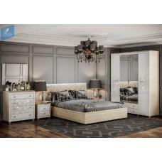 Модульный спальный гарнитур «Амели». Композиция №3