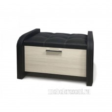 Банкетка «Лофт» Лоредо – Черный ореон