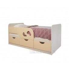 Детская кровать 0.8 «Минима Лего» Дуб Атланта – Крем