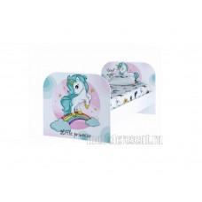 Детская кровать 0.8 «ТОЙС КР-08» Little Pony Белый