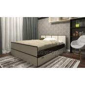 Кровать 1.4 «Сакура» Венге - Лоредо
