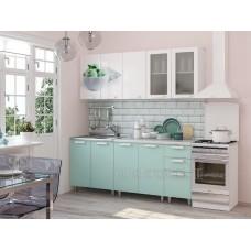 Кухонный гарнитур 2м «Кенди» Белый – Белый глянец / Кенди